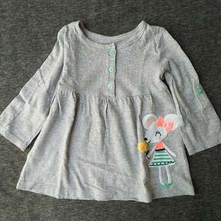Grey Mouse Dress