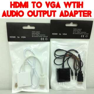 TVD020 HDMI to VGA with Sound Output Converter