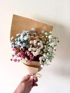 Flower bouquet/anniversary bouquet/ baby breath
