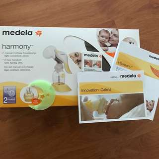 ❗️Never used ~ Medela Harmony + free 2 used medela bottles