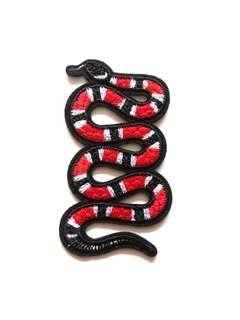 Snake Craft Iron On Patch