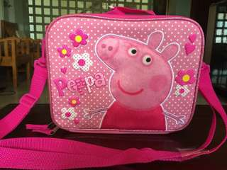 Peppe Pig lunch box/bag