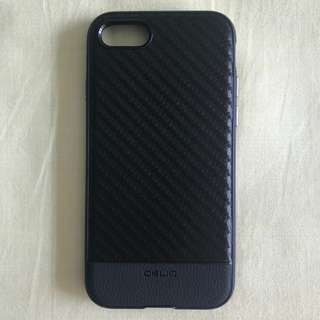 OBLIQ Case for iPhone 8 or iPhone 7 Black Carbon