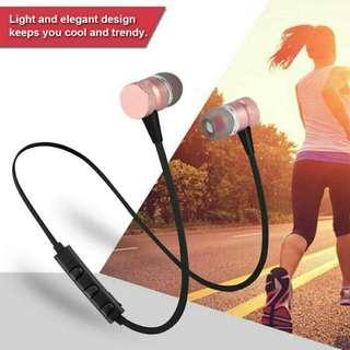 Magnetic Earphone Wireless Bluetooth 4. Sports Headphone