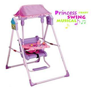 Princess musical swing