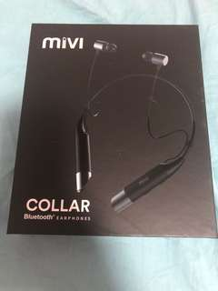 全新 Mivi Collar Bluetooth Earphones