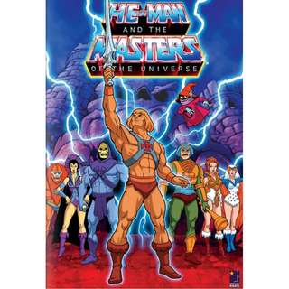 HE-MAN & THE MASTERS OF THE UNIVERSE COMPLETE SERIES