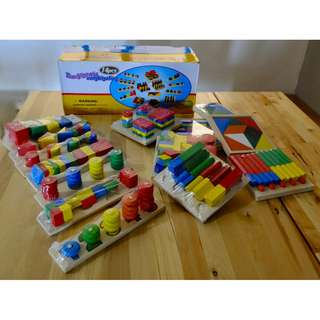 14pcs Montessori Teaching Aid