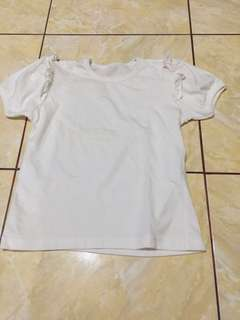 #MakinTebel Preloved Kaos putih