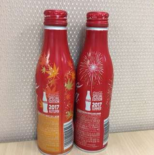 A pair of Japan Coke bottle - Autumn and Summer 2017