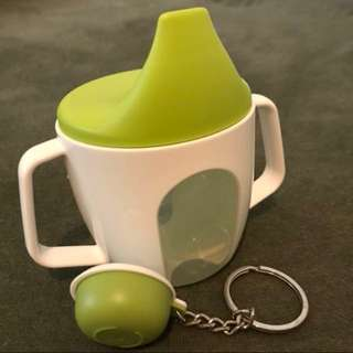 Ikea Training cup and Tupperwear key chain