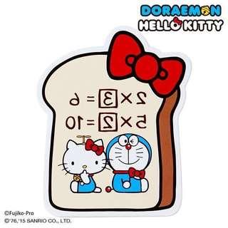 🇯🇵日本製 Hello Kitty x多啦A夢memo 紙