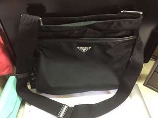 Prada men shoulder bag