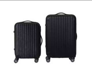 2 Luggage bag / suitcase , handcarry + check in luggage