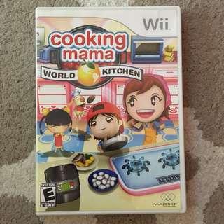 Cooking Mama: World Kitchen (Nintendo Wii)
