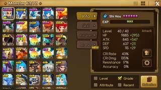 SUMMONERS WAR ASIA ACC