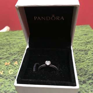 Pandora's Delicate Heart Ring❤️