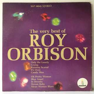 Roy Orbison ‎– The Very Best Of Roy Orbison (1966 USA Original - Vinyl is Excellent)