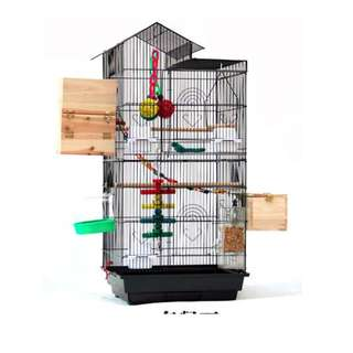 Large 100-cm height breeding cage (Black)  -- Open for Pre-Order