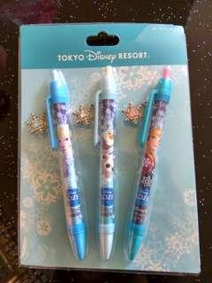 Anna and Elsa Frozen Fantasy Tokyo Disneyland Ballpoint Pen 東京迪士尼