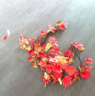 Maple leaves decorations 楓葉裝飾