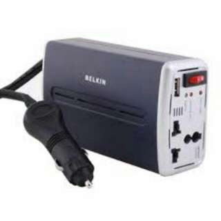 Power Inverter With USB Charging 200W - BELKIN