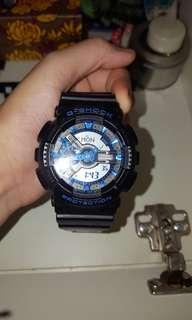 G Shock Watch blue 50%off