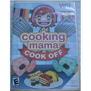 (Wii game disc, NTSC US) : Family Game Night . Cooking Mama