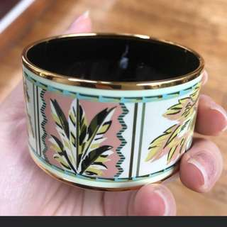 Hermes Enamel Bangle