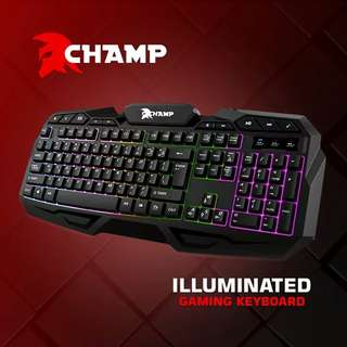 "Champ gaming keyboard Original and Affordable ""Limited stocks"""