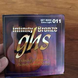 Acoustic Guitar Strings + free shipping