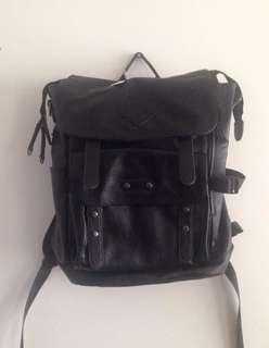 *PRICE NEGOTIABLE* Zeca Faux Leather Backpack