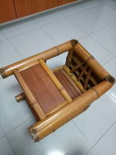 Vintage Bamboo baby chair