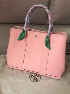 Hermès garden party 36 Sakura pink gp36 粉紅色 罕有 hermes