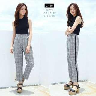 Celana square import , square pants free size
