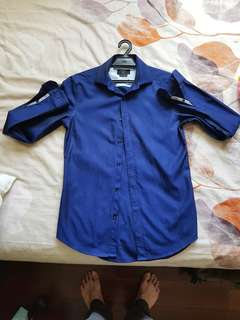 PRICE REDUCED: Padini Dress Shirt (Blue) #MidSep50