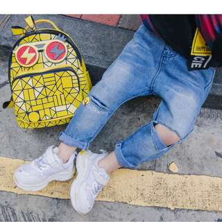 kids fashion boy denim jeans