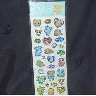 Sanrio Chi Bi Ma Ru 2004' Stickers 貼紙