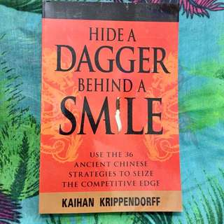 📖 Hide A Dagger Behind A Smile