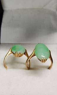 Jade 22k Gold Ring