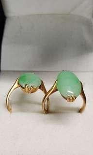 Jade 22k Gold Ring