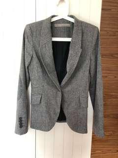 Grey Blazer Zara s size
