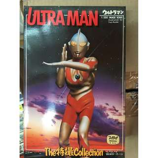 ULTRAMAN 1/350 SCALE MODEL KIT MADE BY BANDAI IN JAPAN.
