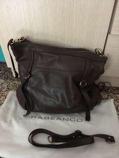 Authentic rabeanco leather bag