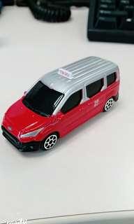 Maisto 1/64 福特 紅色 的士 Tiny taxi 非 tomica tomy