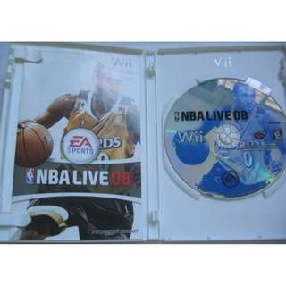 (Wii game disc, NTSC US) : NBA Live 08