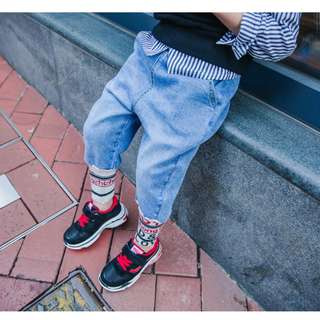 kids fashion denim jeans