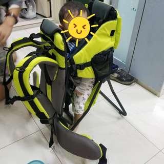 嬰兒兒童戶外登山旅行行山背架