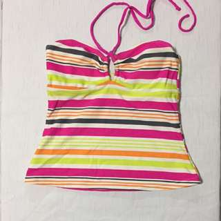 Swimming top backless for girls 8-10 yo
