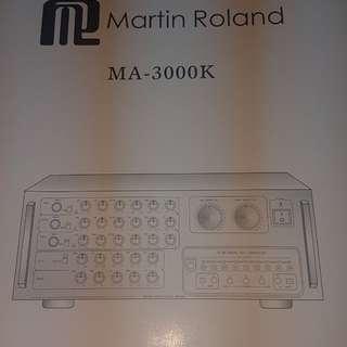MARTIN ROLAND PROFESSIONAL DIGITAL MIXING AMPLIFIER